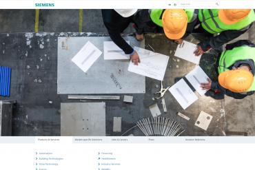 Siemens ClientWebsite